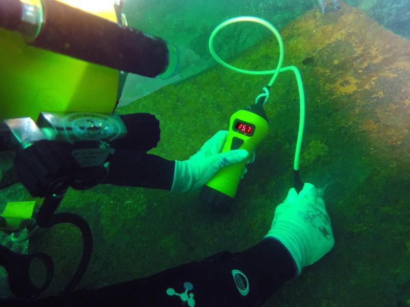 Underwater MultiGauge 3000 u akciji